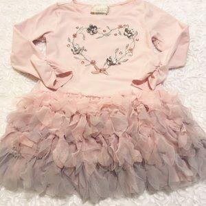 Other - Gorgeous little girls pink dress